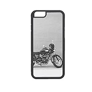 Vibhar printed case back cover for Apple iPhone 6s LonelyBike