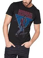s.Oliver Camiseta Manga Corta (Negro / Azul / Rojo)