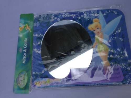 Disney Princess Tinkerbell Mirror and Comb Set