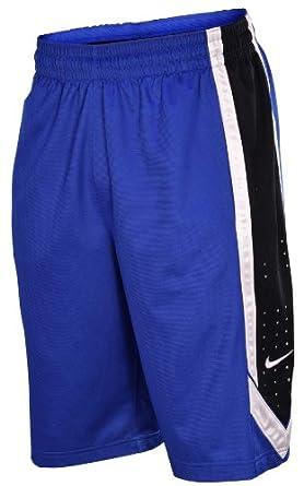 Nike Mens Dri-Fit Matchup Basketball Shorts-Blue Black White by Nike
