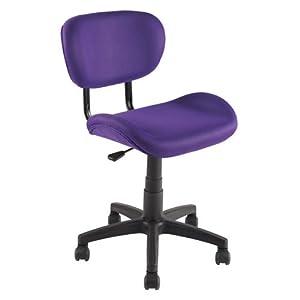 .com - OfficeMax Bailey Task Chair, Purple - Desk Chair For Teens