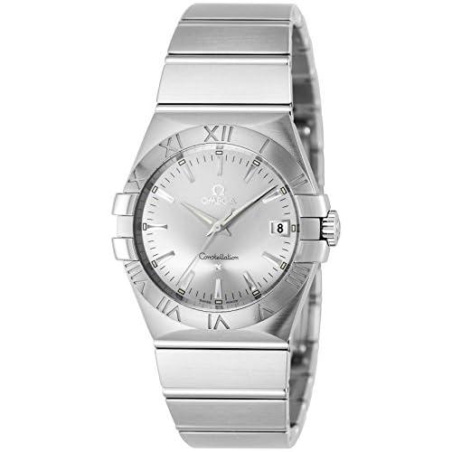 [オメガ]OMEGA 腕時計 コンステレーション シルバー文字盤 デイト 100M防水 123.10.35.60.02.001 メンズ 【並行輸入品】