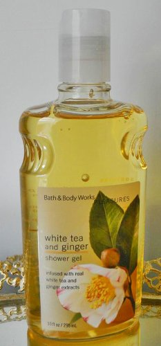 Bath & Body Works Classics Collection White Tea & Ginger Shower Gel 10 Oz