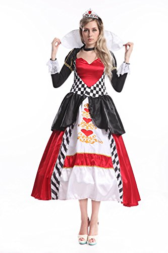 Quanzhou Walson Women's Queen of Hearts Costume