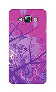 SWAG my CASE Printed Back Cover for Samsung Galaxy E7