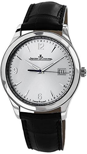 【ジャガールクルト】 Jaeger-LeCoultre 腕時計 マスターコントロール SS×革ベルト シルバー Q1548420 メンズ 【並行輸入品】