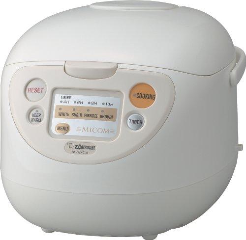 Zojirushi NS-WXC18 Micom Rice Cooker and Warmer, 10 Cups, 1.8-Liters
