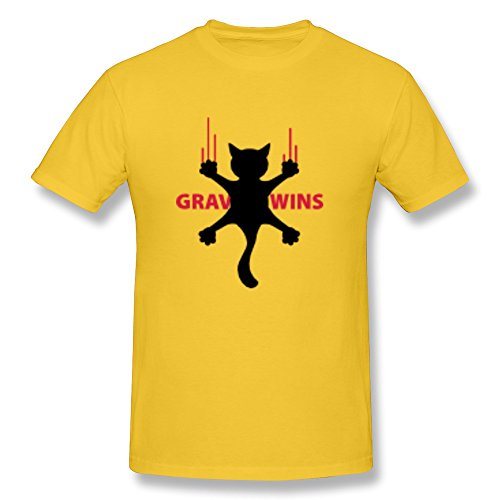 Gravity Wins Bloody Cat Boy Fitted Pockets Tee - Ultra Cotton front-969797
