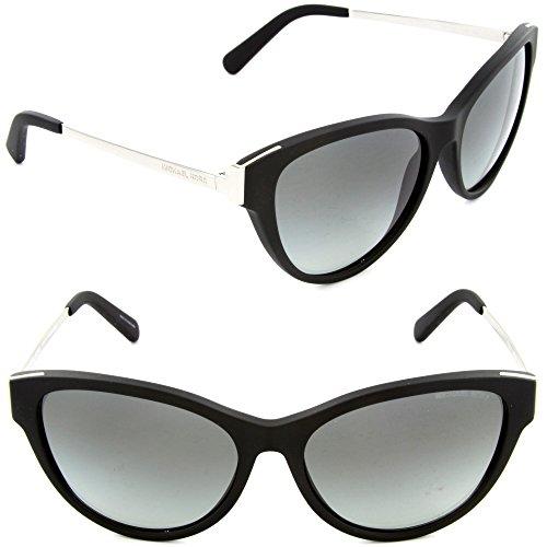 Michael Kors 6014 302211 Matte Black Punte Arenas Cats Eyes Sunglasses Lens Cat