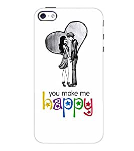 PrintDhaba Quote D-4899 Back Case Cover for APPLE IPHONE 5 (Multi-Coloured)