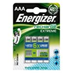 Energizer 800MAh AAA Extreme 1.2V Bat...