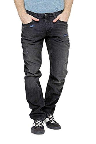 Ikks Jeans Stretti SLIM PAK, uomo, Colore: Nero, Taglia: 33