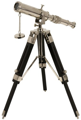 Expedition Voyager Tabletop Telescope, Black/Silver