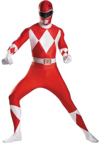 Costumes for all Occasions DG55620D Red Ranger Bodysuit Adult Cost