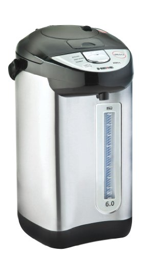 Heis HP9500 6-Quart Hot Water Dispenser, with Auto & Manuel Water Dispenser, Stainless Steel, with Shabbos Mode (6 Quart Tea Kettle compare prices)