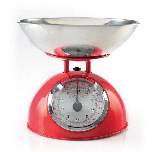 Balance de cuisine Mécanique Rétro - Rouge