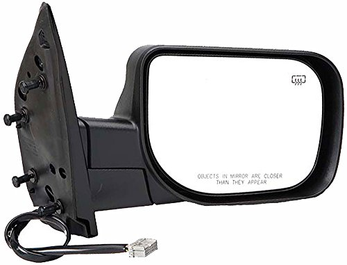 APDTY 0662861 Side View Mirror,Black/Chrome Right Side/Passenger Side, Power, Foldaway, Without Heat, Without Auto Dimming, Without Power Folding, Without Memory, Without Big Tow Package, and not Extendable,Paint to Match Plastic Housing(Fits 2004-2012 Nissan Titan, and 2005-2012 Nissan Armada)Replaces OEM Part Number(s) 96301ZC20A