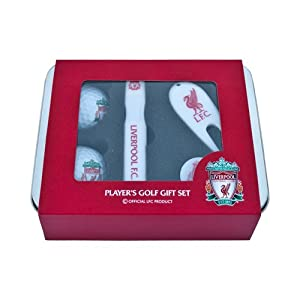 Liverpool Fc Players Golf Gift Set by Liverpool FC