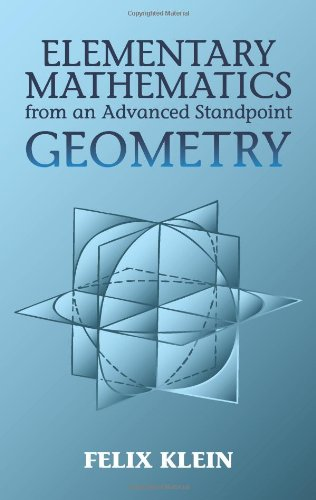 Elementary Mathematics From An Advanced Standpoint: Geometry front-998326