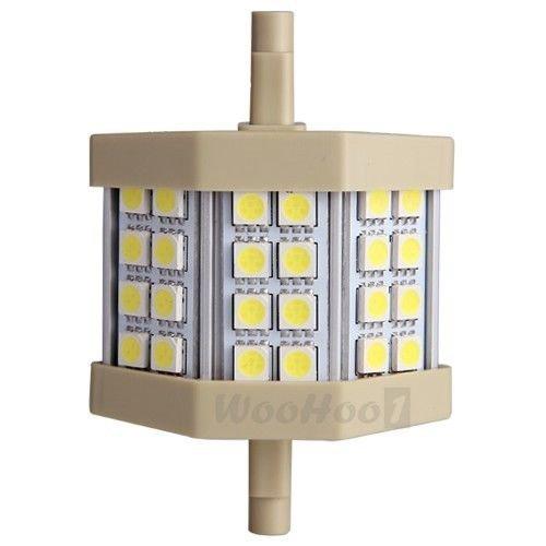 R7S J78 78Mm White 5050 Smd 24 Led Flood Light Lamp Bulb 5W 400Lm