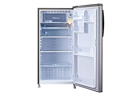 LG GL-B195OGSP Direct-cool Single-door Refrigerator (185 Ltrs, 4 Star Rating, Graphite Steel)