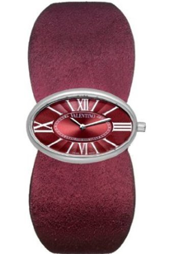 Valentino Seduction Womens Watch V43MBQ9906S006 Red Leather Strap