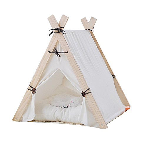 Free Love@square white color design Pet Kennels Pet Play House Dog Play Tent Cat /Dog Bed