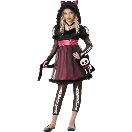 Skelanimals Kit the Cat Kids Costume