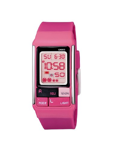 Casio Ladies Digital Watch LDF-52-4AEF With Poptone Resin Strap