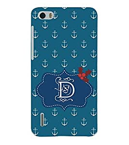 EPICCASE anchor of D Mobile Back Case Cover For Huawei Honor 6 (Designer Case)