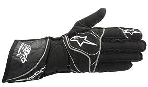 Alpinestars (3550313-10-M) Black Medium Tech 1-ZX Gloves