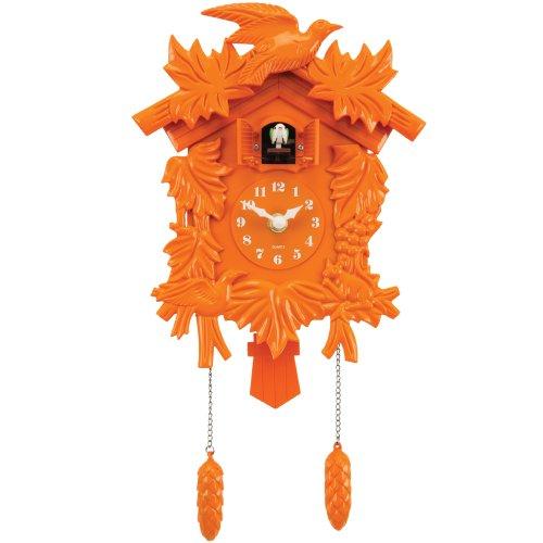 Molly 'n Me Cuckoo Clock, Orange