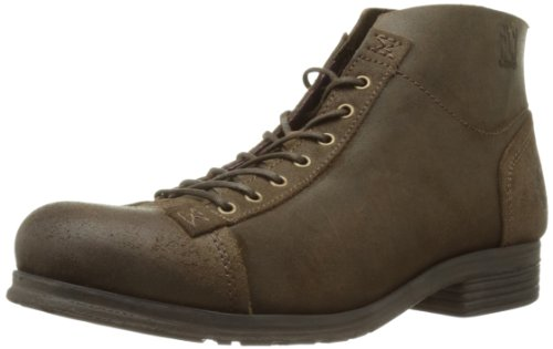 Fly London Mens Orme Boston Boots P142778000 Dark Brown 12 UK, 46 EU
