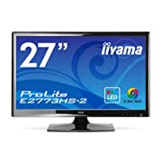iiyama WLEDバックライト搭載 27型ワイド液晶ディスプレイ ProLite E2773HS-GB2