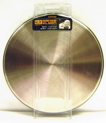 Range Kleen Stainless Steel Burner Cover Set - Set of 4 (Stainless Steel Range Electric compare prices)