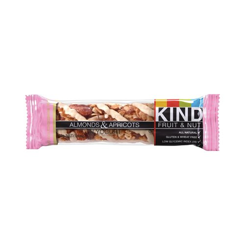 Almond & Apricot in Yogurt By Kind Bars Box of 12 Bars (Kind Bars With Yogurt compare prices)