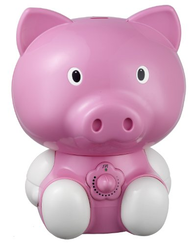 Cheap SPT Pig Ultrasonic Humidifier, Pink (SU-3882)