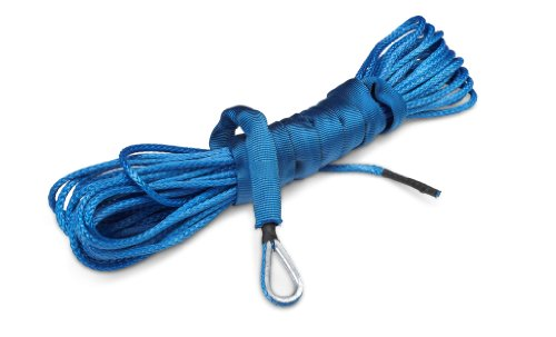 Buy Cheap 50 ft AmSteel®-Blue Synthetic ATV/UTV Winch Cable/Rope - BLUE