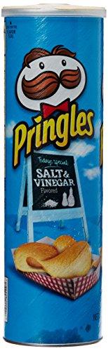 Pringles Potato Chips, Salt and Vinegar, 165g