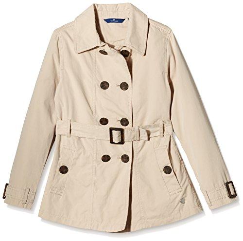TOM TAILOR Kids trench coat/602-Giubbotto Bambina    Beige (original 1000) 10 anni