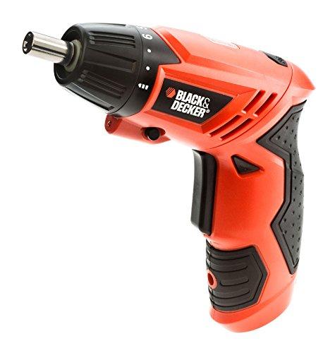 Black and Decker KC4815 15 – Piece Screwdriver Set (Orange)
