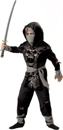 InCharacter Costumes, LLC Big Boys' Dark Zombie Ninja Tabard Set