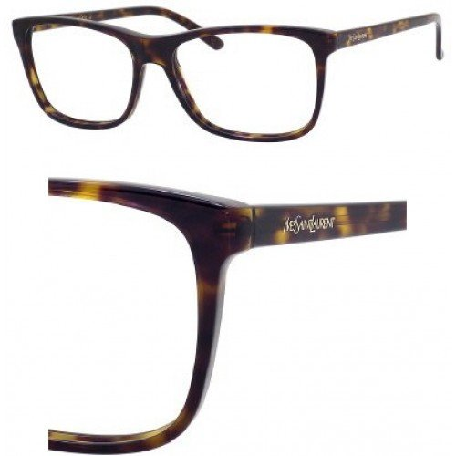 Yves Saint Laurent Eyeglasses Yves Saint Laurent 6384 0086 Dark Havana