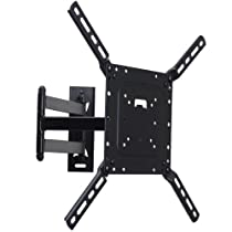 VideoSecu Tilt Swivel Articulating Full Motion Plasma LCD LED Flat Panel TV Wall Mount for most 26-55 inch HDTV ML531BL CB6