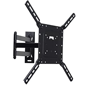 VideoSecu Low Profile Articulating Swing Arm TV Wall Mount Bracket for most 26