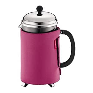 Pink French Press Coffee Maker : Amazon.com: Bodum Nero Thermal Neoprene 12-Cup French Press Coffee Coat, Pink: Bodum French ...