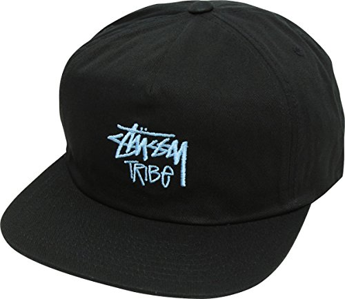 STUSSY (ステューシー) Tribe Cap スナップバックキャップ 【フリー ブラック】 [並行輸入品]