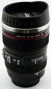 24 105mm caniam dslr camera lens travel coffee - Travel mug stainless steel interior ...