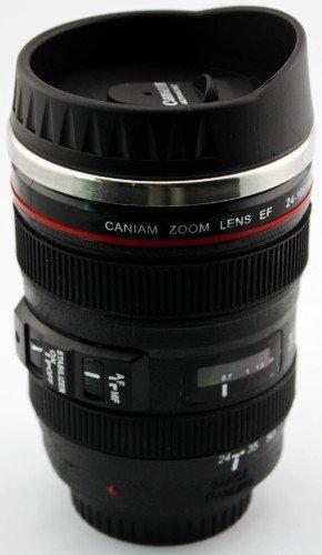 105mm Canon DSLR Camera Lens Travel Coffee Mug