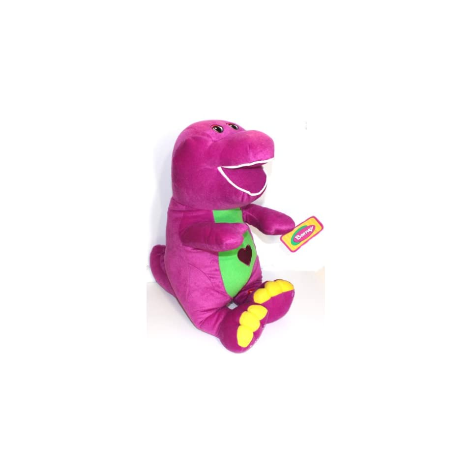 Barney Plush Singing I Love You Song 24 Toys & Games on